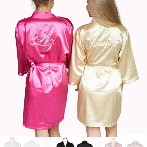 Kimono met naam borduring